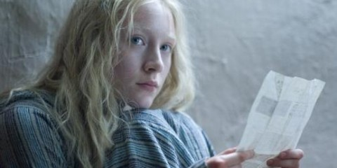 With her blue eyes and white blond hair Saoirse Ronan's Hanna is a teutonic fairytale heroine come to life.