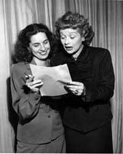 Madelyn Pugh Davis & Lucille Ball