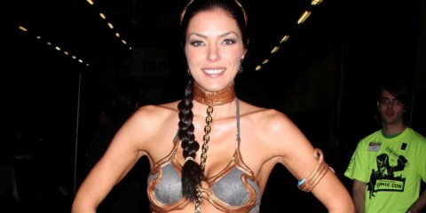 Adrianne Curry has essentially turned geek pandering into a career.