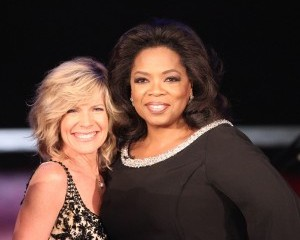 looks guys! It's Debs! With Oprah! Bet you don't feel so dirty now, right? What's that? You do? It's cool - keep staring at Oprah until the hurt stops.
