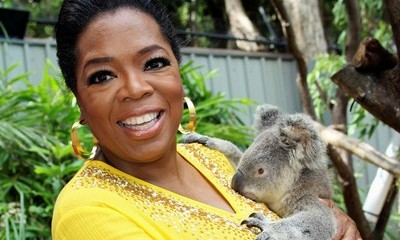 Oprah don't give a fuck - bitch has a Koala.