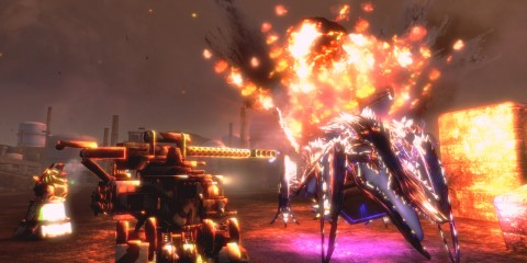 You in a mech blowing up sentient inetrnet monsters!