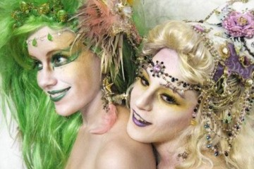 These cosplayers went all-out to become Rydia and Rosa.