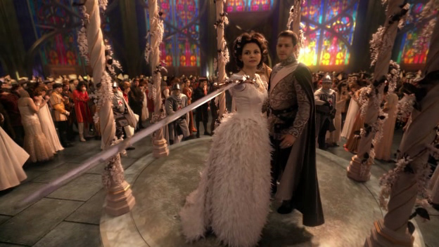 Once Upon A time wedding scene