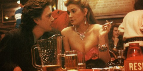 Demi in St. Elmo's Fire. Also, Andrew McCarthy. I could have posted one of Demi and Ashton - but guys, ANDREW MCCARTHY - WHEN WILL I HAVE A CHANCE TO WRITE ABOUT HIM AGAIN?