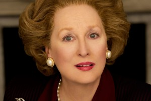 Streep as Thatcher