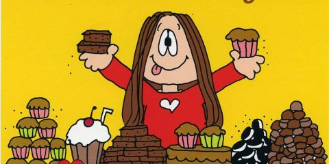 If you want to gorge on chocolate while reading Cathy unironically by golly you DO IT.