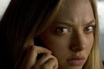 Potentially mad Amanda Seyfried JUDGES YOU.