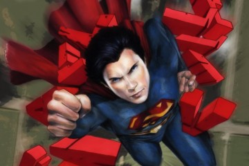 Smallville Season 11, Issue #1, cover by Cat Staggs.