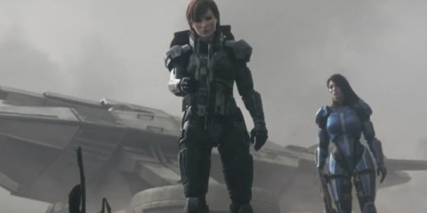 FemShep and Ashely killing aliens in what could be many people's game of the year.