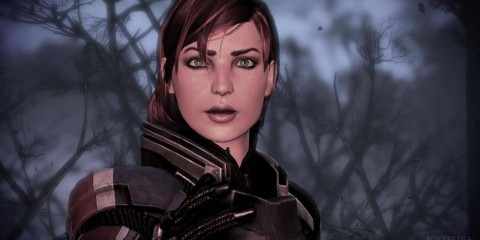 FemShep In Game Mass Effect 3