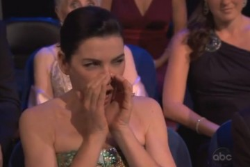 Julianna Margulies Booing