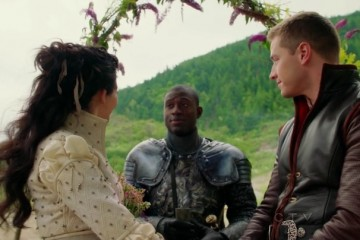 Lancelot let's hang--but Charming can go braid the flowers into that archway himself.