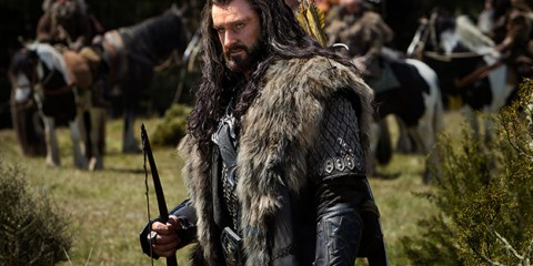 I don't understand how Richard Armitage in prosthetics and running around being angry and a jerk is so attractive but he is.