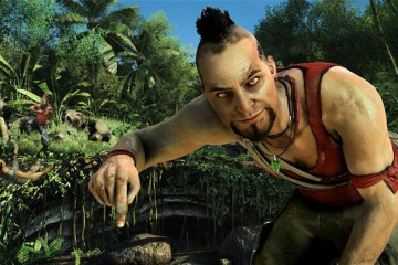 Vaas, one of the two primary villains. He's be fascinating if he wasn't so overwritten.