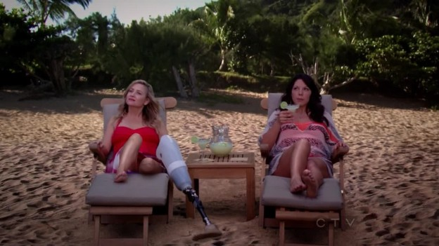 Grey's Anatomy 9x12 - THE BEACH