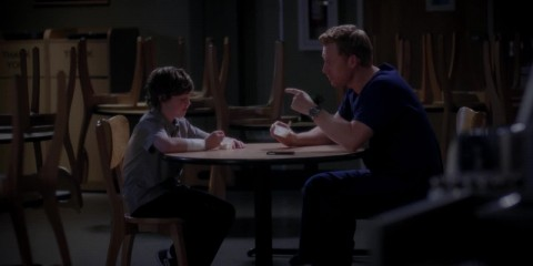 Grey's Anatomy 9x19 - Owen and Son