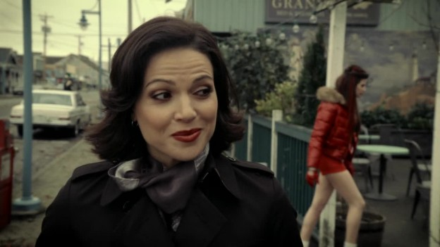 Once Upon A Time 2x17 - Regina's Sass Face