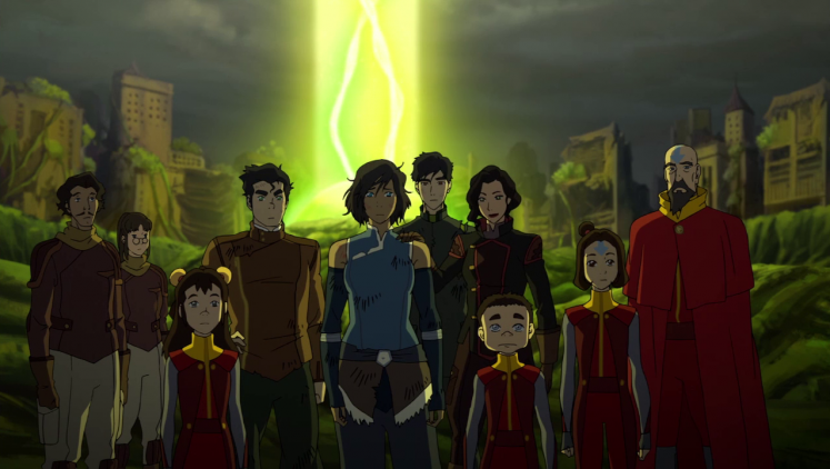 Legend of Korra OH MY GOD SHOULDER TOUCH